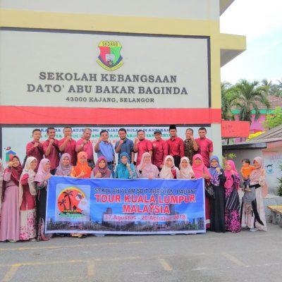Studi Tour 4 hari malaysia SDIT Arroyan padang
